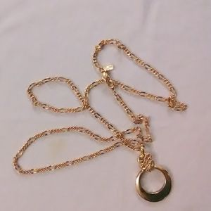 Liz claiborne goltone necklace